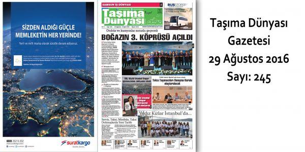 Taşıma Dünyası Gazetesi_245 PDF 29 Ağustos 2016
