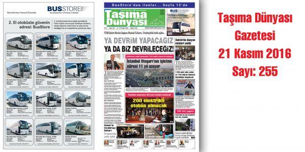 Taşıma Dünyası Gazetesi_255 PDF 21 Kasım 2016