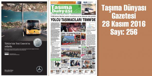 Taşıma Dünyası Gazetesi_256 PDF 28 Kasım 2016