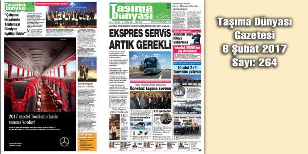 Taşıma Dünyası Gazetesi_264 PDF 6 Şubat 2017