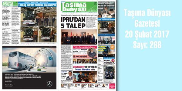 Taşıma Dünyası Gazetesi_266 PDF 20 Şubat 2017
