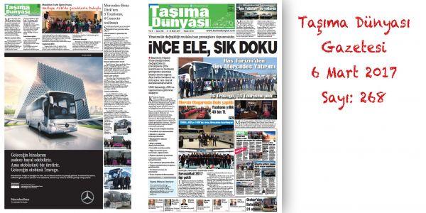 Taşıma Dünyası Gazetesi_268 PDF 6 Mart 2017