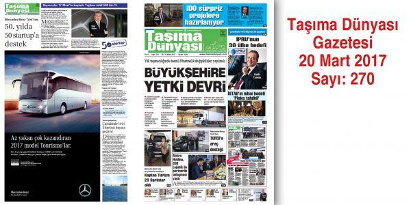 Taşıma Dünyası Gazetesi_270 PDF 20 Mart 2017