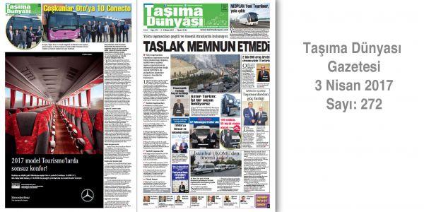 Taşıma Dünyası Gazetesi_272 PDF 3 Nisan 2017