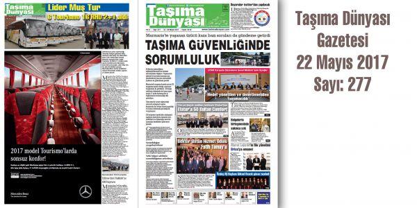 Taşıma Dünyası Gazetesi_277 PDF 22 Mayıs 2017