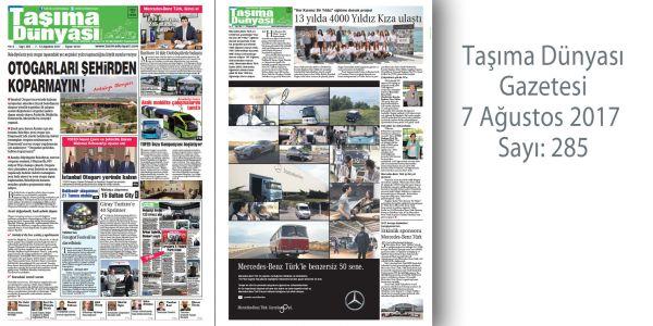Taşıma Dünyası Gazetesi_285 PDF 7 Ağustos 2017