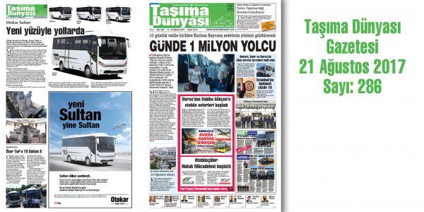 Taşıma Dünyası Gazetesi_286 PDF 21 Ağustos 2017