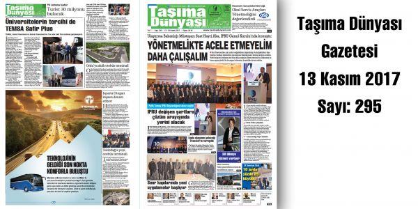 Taşıma Dünyası Gazetesi_295 PDF 13 Kasım