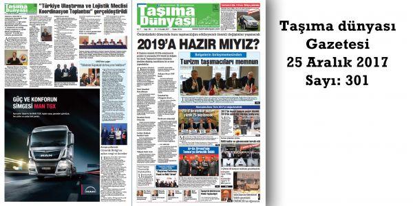 Taşıma Dünyası Gazetesi_301 PDF 25 Aralık 2017