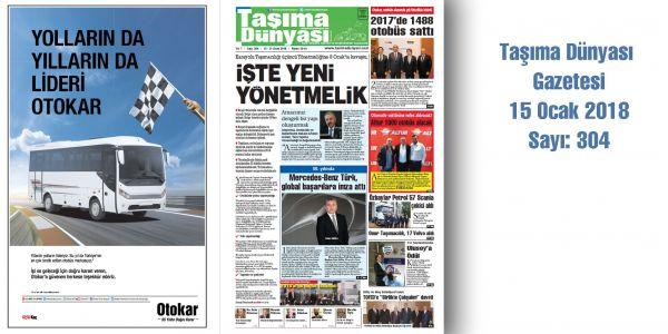 Taşıma Dünyası Gazetesi 304 PDF 15 Ocak 2018