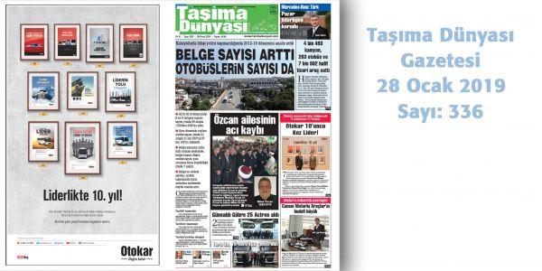 Taşıma Dünyası Gazetesi_336 PDF 28 Ocak 2019