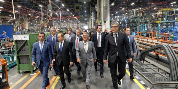 Tataristan Cumhurbaşkanı'nın Mercedes-Benz Türk ziyareti