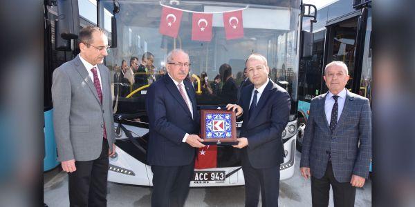 Tekirdağ Büyükşehir Belediyesi'ne 27 Karsan Atak Otobüs!