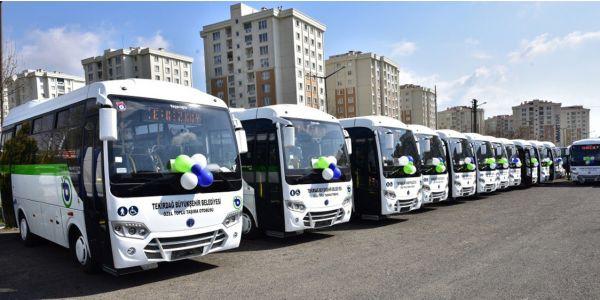 Tekirdağ kentiçi ulaşımına Temsa'yı seaçti