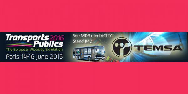Temsa Elektrikli Otobüs Fransa yolunda