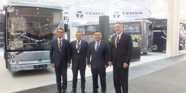TEMSA Anadolu Seyahat ile 100 Safir Plus anlaşması yaptı
