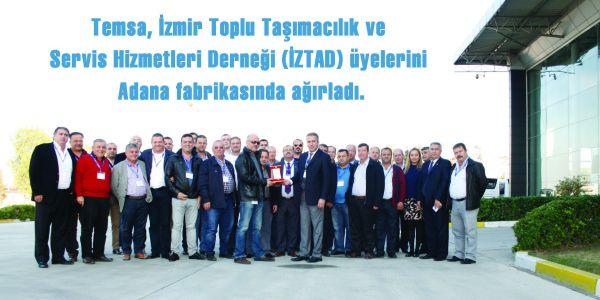 Temsa İZTAD üyeleri ile 21 otobüslük anlaşma yaptı