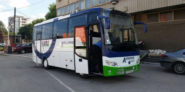 Temsa MD7 otobüsü Sırbistan'da