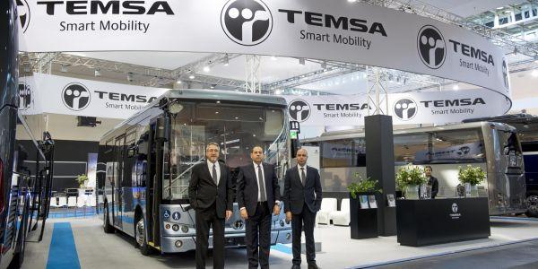 TEMSA, Otobüslerini Hannover Ticari Araç Fuarı'nda sergiliyor