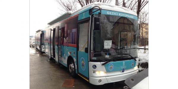 TEMSA'dan 10 gezici kütüphane otobüsü