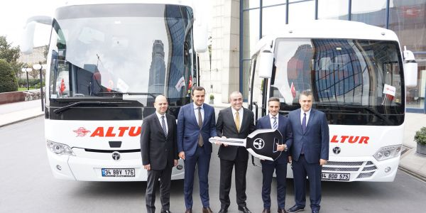TEMSA Altur Turizm'e 120 otobüs teslim etti