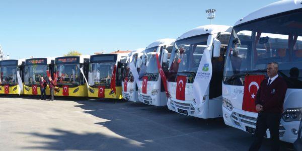 Temsa'dan Balıkesir Büyükşehir Belediyesi'ne 22 araçlık toplu teslimat