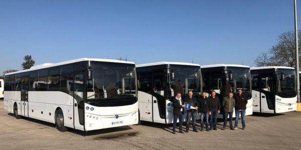 TEMSA'dan Fransa'ya 22 otobüs