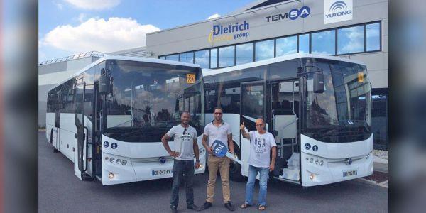 TEMSA'dan Fransa'ya 45 okul otobüsü