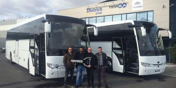 Temsa'dan Fransa'ya 70 Otobüs