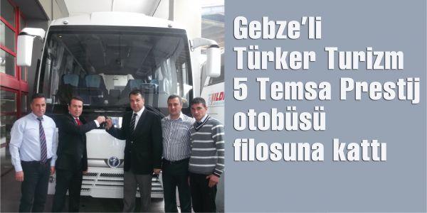 Temsa'dan Türker Turizm'e 5 Prestij