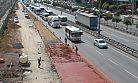 Ankara yolunda otobüslere özel yol