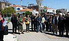 Ayvalık'ta TÜRSAB'a 'booking.com' protestosu
