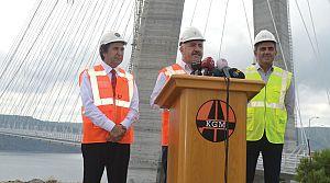 Bakan açıkladı: Ağır vasıtalar 3. Köprüye