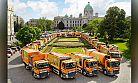 DAF Trucks Belgrad'a 44 şehir temizlik aracı teslim etti