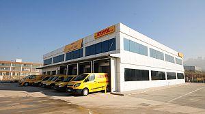 DHL Ankara yeni binası hizmette