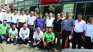 Halk Otobüsçüleri ve  Yetkili Servisler biraraya geldi