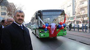 Halk otobüsçülerinin ödemelerinde örnek proje