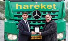 Hareket'e 120 tonluk Mercedes-Benz Arocs çekici