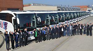 Has Turi̇zm 30 Mercedes Otobüs yatırımı yaptı