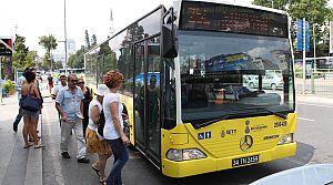 İstanbul'a 400 otobüs geliyor