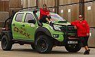 Isuzu D-Max yarış otomobili ve kadın yarış pilotları Transanatolia'ya hazır