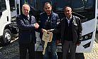 Isuzu Novo'nun okul paketli teslimatı