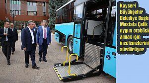 Kayseri Büyükşehir Belediyesi 50 otobüs alacak