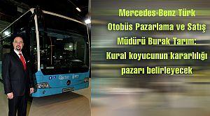 Mercedes: Kural koyucu otobüs pazarını belirleyecek