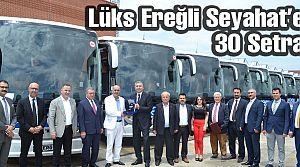 Lüks Ereğli 30 Setra otobüs aldı