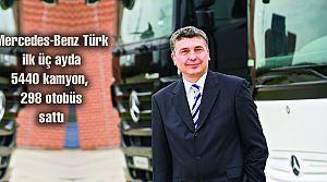 Mercedes 5440 kamyon, 298 otobüs sattı