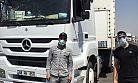 2 bin kamyon sürücüsünün bayramını kutladı