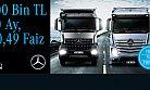 Mercedes-Benz Türk'ten kamyonda yılın son fırsatı