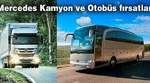 Mercedes Otobüs ve Kamyonda Temmuz fırsatları