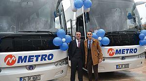 Metro Turizm 25 milyon yolcu taşıyacak